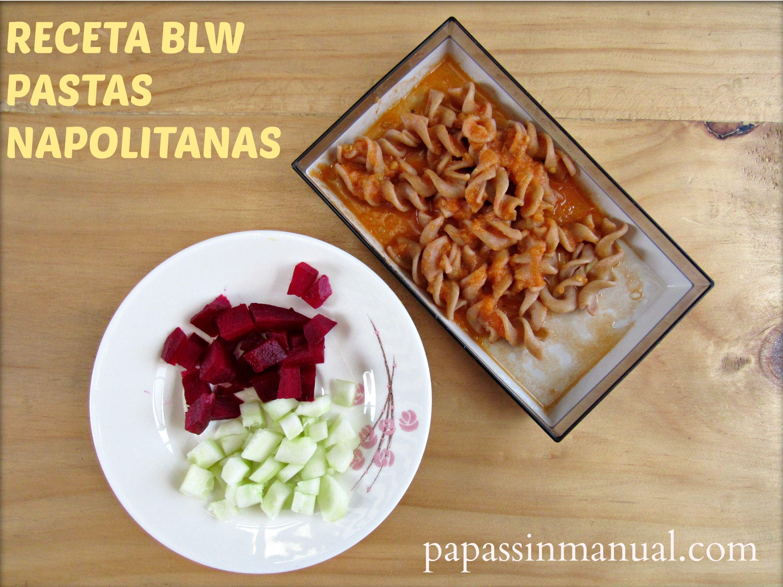 Receta BLW: Pastas napolitanas