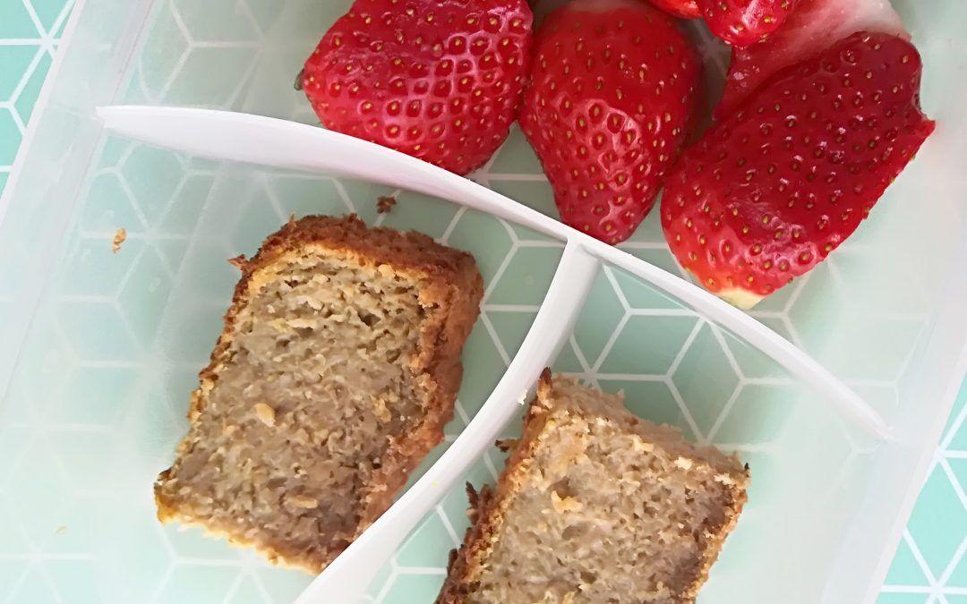 Receta BLW: Torta de pera, avena y remolacha.