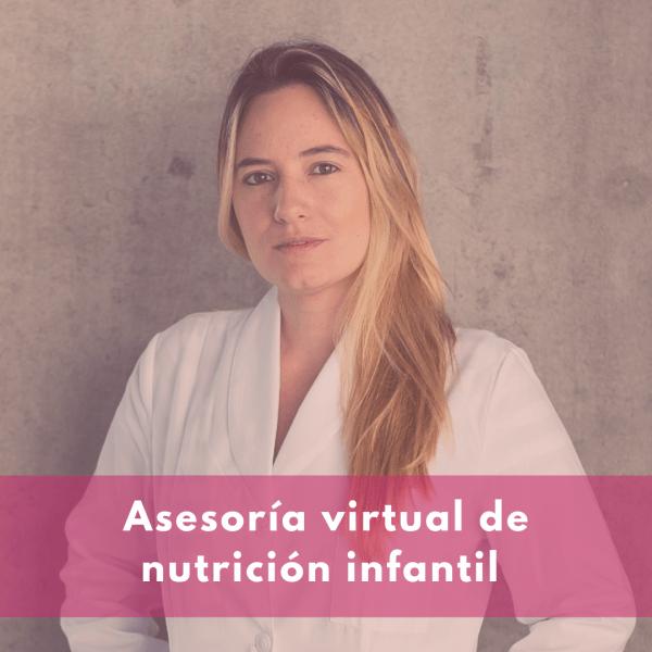 asesoría virtual de nutrición infantil